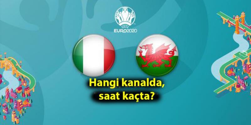 İtalya Galler maçı hangi kanalda, ne zaman, saat kaçta canlı yayınlanacak? EURO 2020 A Grubu