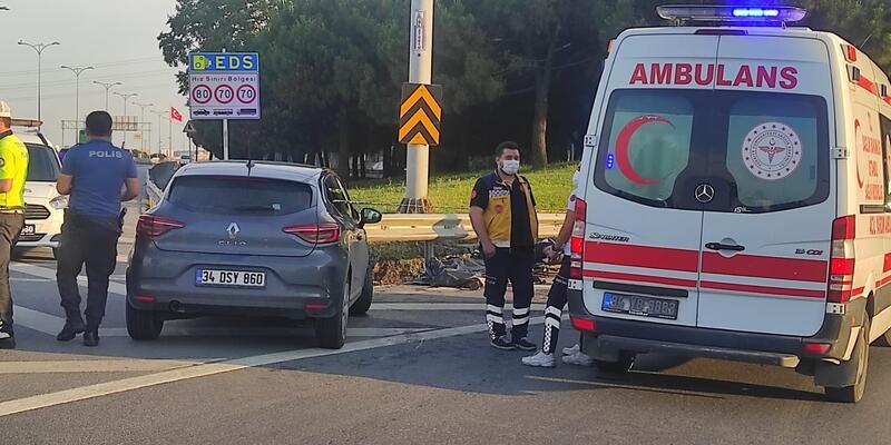 Bayrampaşa'da feci kaza: 1 ölü, 1 ağır yaralı