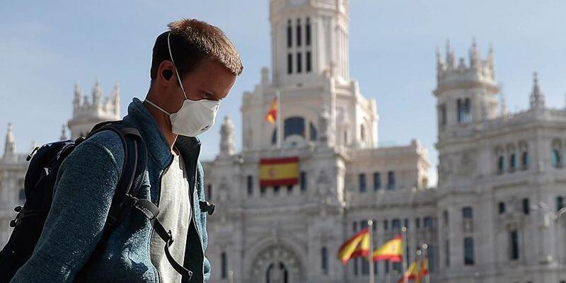 İspanya'da Kovid-19'dan son 3 günde 37 kişi hayatını kaybetti