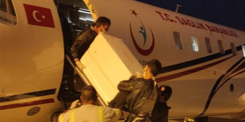 Türkiye'den KKTC'ye 50 bin doz daha Kovid-19 aşısı gönderildi