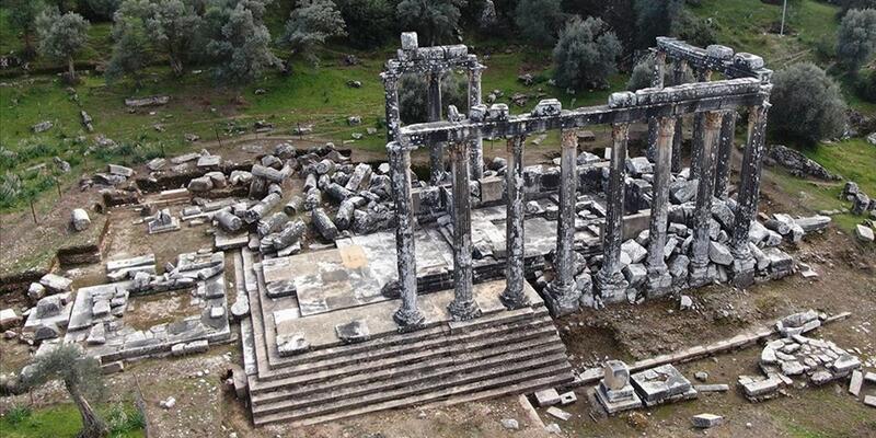 Zeus Tapınağı Nerede, Nasıl Gidilir? Zeus Tapınağı Tarihi Ve Özellikleri...