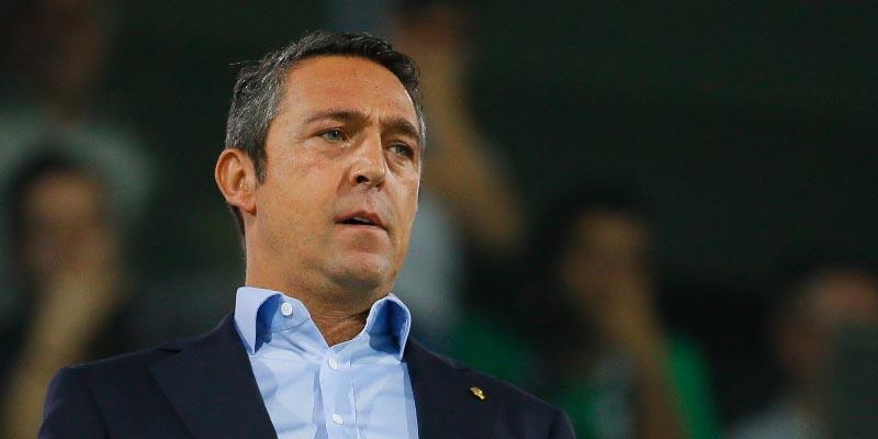 Son dakika... Ali Koç'tan teknik direktör açıklaması!