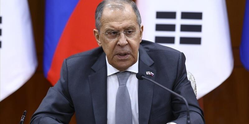"""Rusya Dışişleri Bakanı Lavrov: """"NATO ile AB'nin çağrıları ikiyüzlülük"""""""