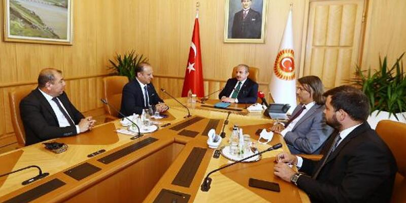 TBMM Başkanı Şentop, Balkan heyetini kabul etti