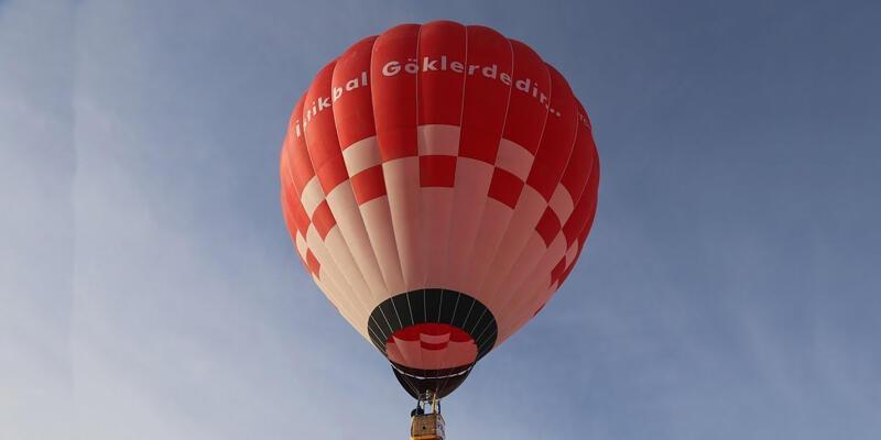 Yerli üretim sıcak hava balonu ilk kez yurt dışına ihraç edildi