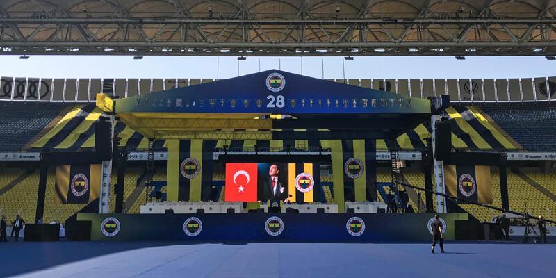 Son dakika... Fenerbahçe'de Olağan Seçimli Genel Kurul başladı
