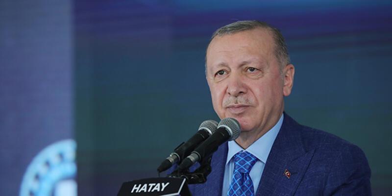 """Cumhurbaşkanı Erdoğan'dan Hatay'da: """"Bize ne huzur verirler ne refah yaşatırlar"""""""