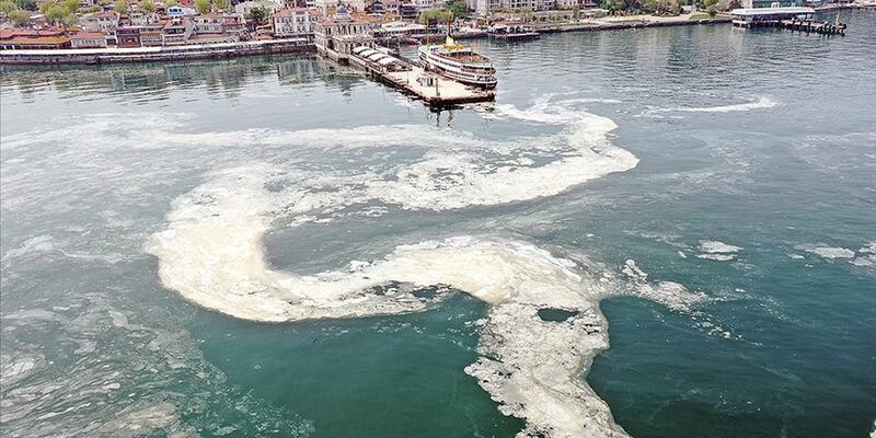 Marmara Denizi'nden toplam 6 bin 929 metreküp müsilaj temizlendi
