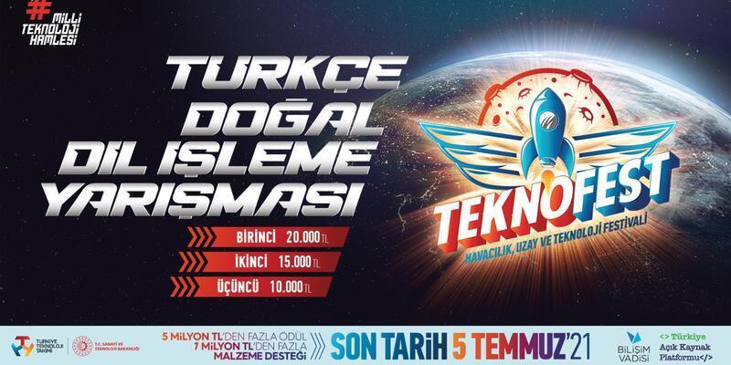 """Dijital Dünyanın """"Türkçe"""" Kodlarını Yazmak İsteyenler TEKNOFEST Türkçe Doğal Dil İşleme Yarışmasına Başvuruları Kaçırmayın!"""