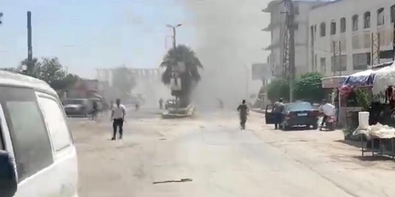 Afrin'de bombalı araçla saldırı: 3 ölü, 3 yaralı