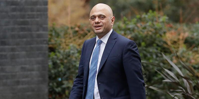 İstifa eden İngiltere Sağlık Bakanı Hancock'un yerine eski İçişleri Bakanı Sajid Javid getirildi