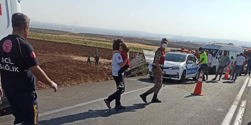 Şanlıurfa'da zincirleme kaza: 1 ölü, 7 yaralı