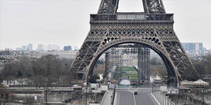 Fransa'da son 24 saatte yeni Kovid-19 vaka sayısı 1578 oldu