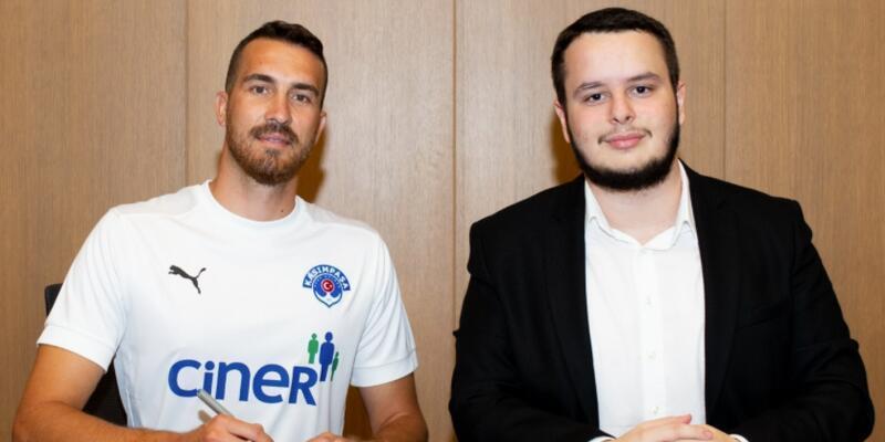 Harun Tekin Kasımpaşa ile imzaladı