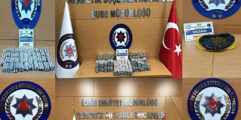 İzmir'de bir haftadaki uyuşturucu operasyonlarında 28 tutuklama