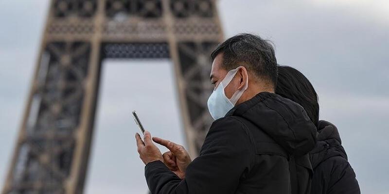 Fransa'da son 24 saatte 509 Kovid-19 vakası tespit edildi