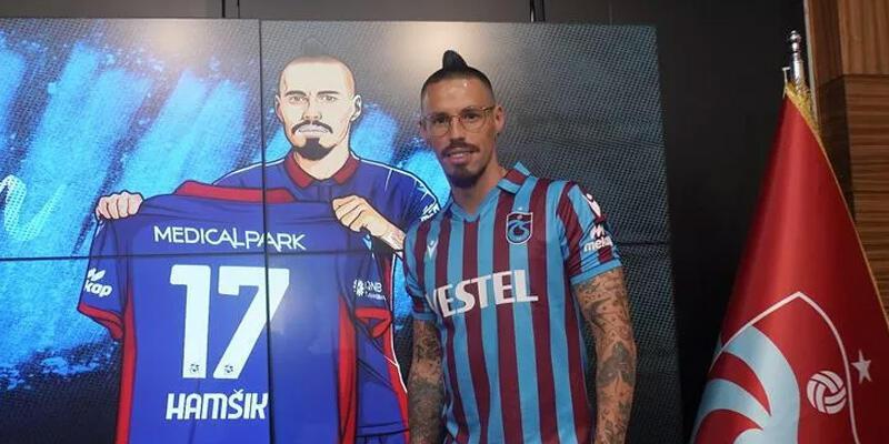 Son dakika... Trabzonspor'da Hamsik imzayı attı!