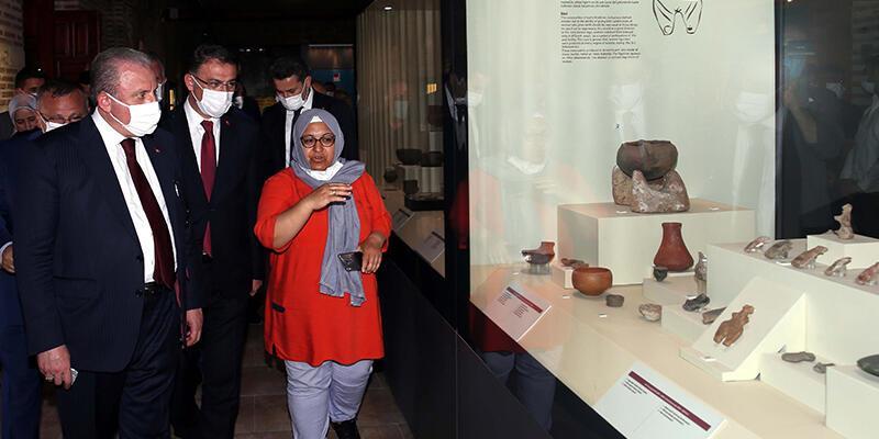 TBMM Başkanı Şentop, Tokat'ta tarihi ve turistik mekanları gezdi