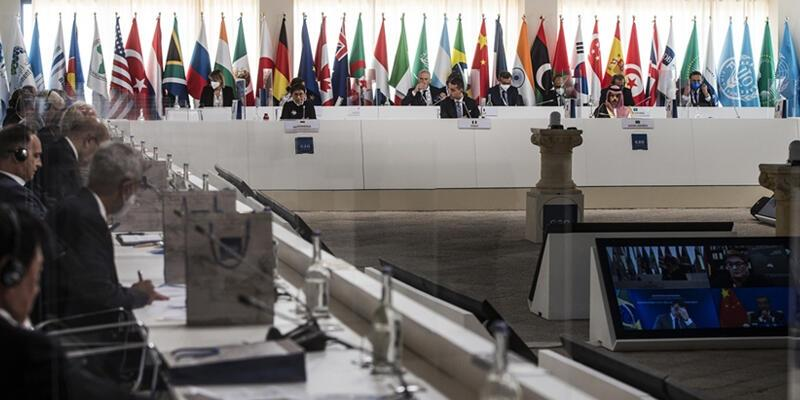 G20 Dışişleri Bakanları toplantısı sona erdi
