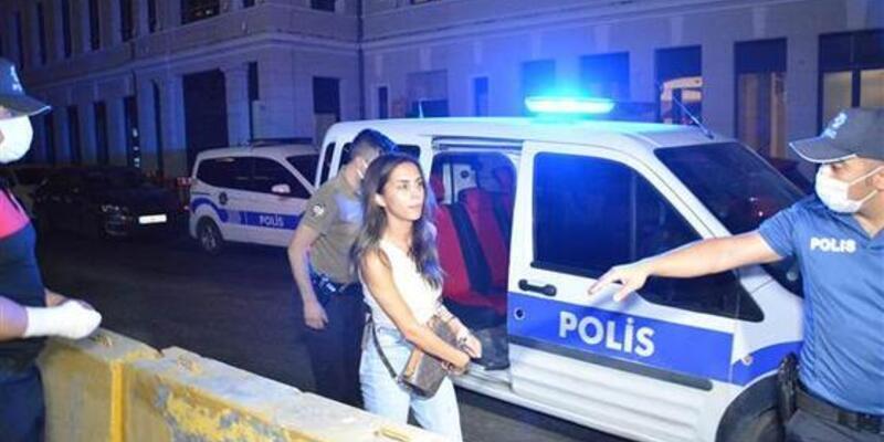 Lüks mekanda kanlı tartışma: Oyuncu Ayşegül Çınar ve eski sevgilisi gözaltına alındı