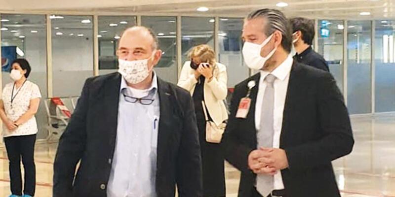 Yer: Havalimanı... Prof. Dr. Ateş Kara kritik görevde