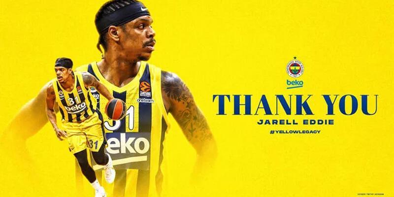 Jarell Eddie Fenerbahçe Beko'dan ayrıldı