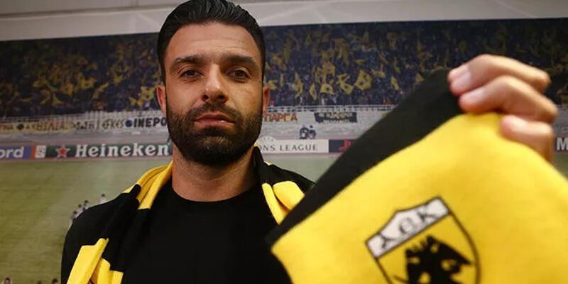 Son dakika... Tzavellas AEK'ya transfer oldu!