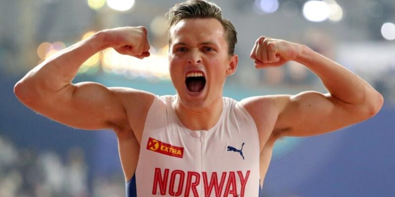 Norveçli atlet Karsten Warholm'den dünya rekoru