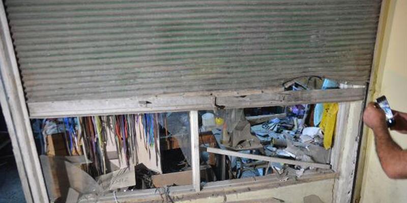 Lostra dükkanına EYP'li saldırı