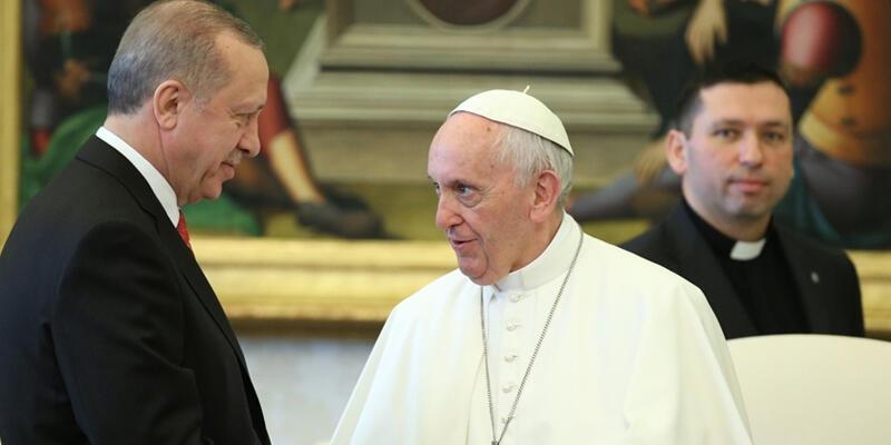 Son dakika haberi: Cumhurbaşkanı Erdoğan'dan Papa'ya geçmiş olsun mesajı