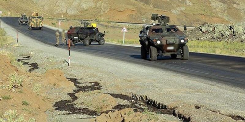 Mardin'de askeri araca saldırı: 1 şehit