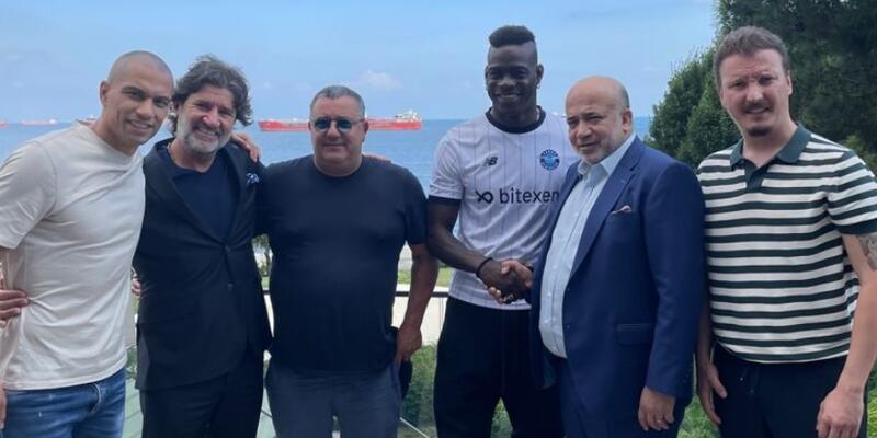 Mario Balotelli Adana Demirspor'da