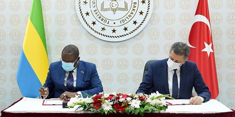 Türkiye ile Gabon arasında eğitim alanında iş birliği anlaşması imzalandı