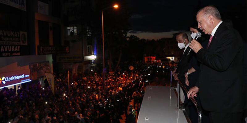 Cumhurbaşkanı Erdoğan: Hedefimiz 2023'e yönelik hazırlıklarımızı en güzel şekilde sürdürmektir