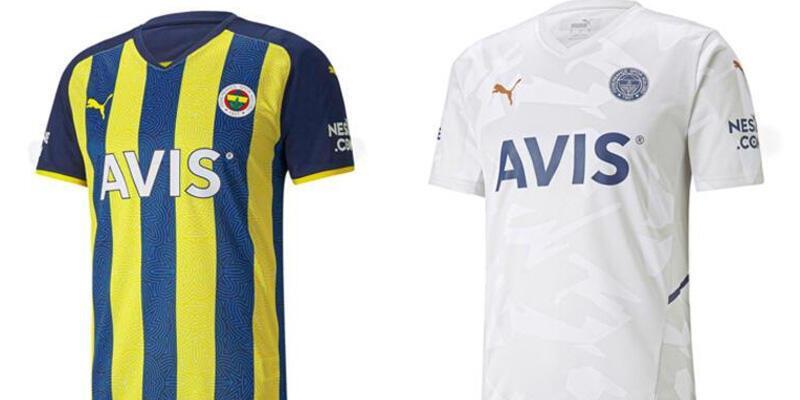 Son dakika... İşte Fenerbahçe'nin 2021-22 formaları
