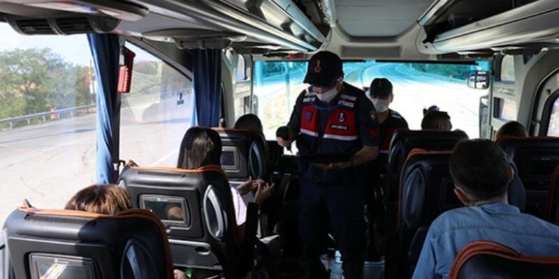 Yolcunun testi pozitif çıktı! Otobüsteki 37 kişi izolasyona alındı