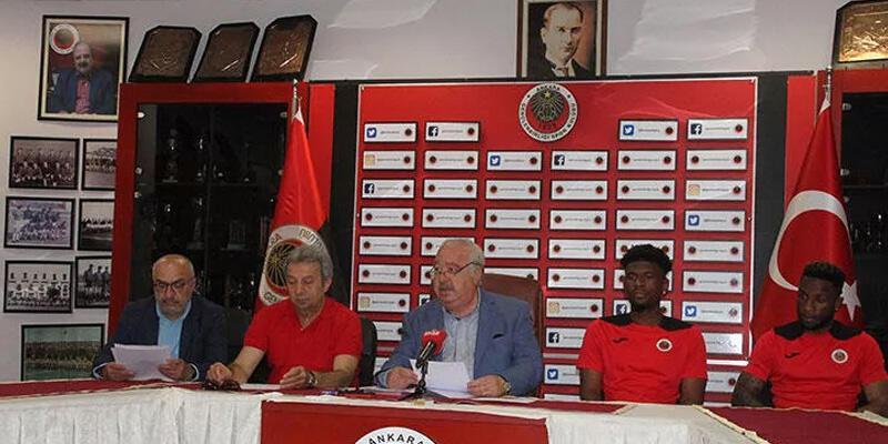 Gençlerbirliği'nde Lua Lua ve Tshibola imzaladı!