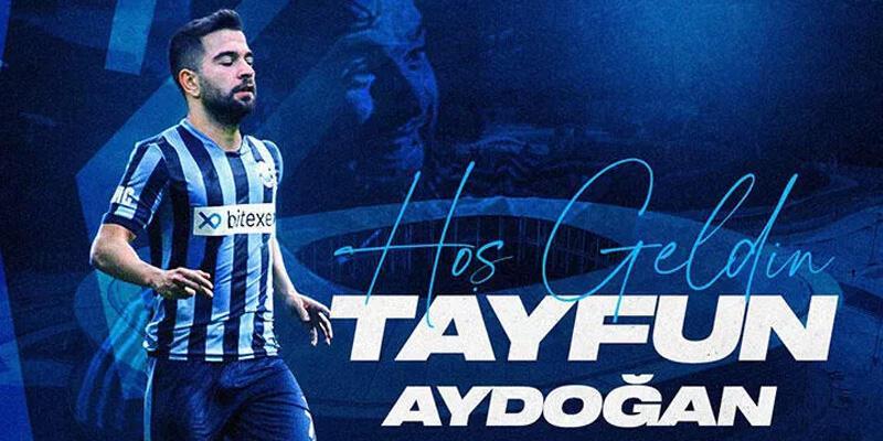 Adana Demirspor, Tayfun Aydoğan'ı transfer etti