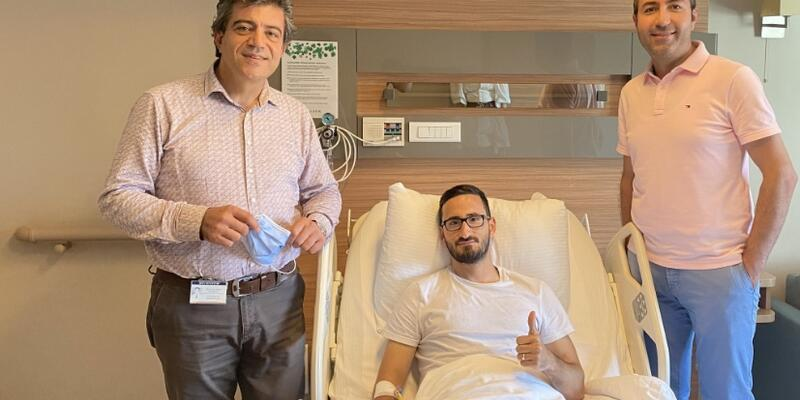 Erdoğan Yeşilyurt ameliyat oldu