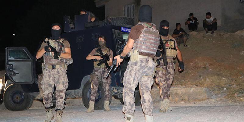 Şanlıurfa'da 312 polisle asayiş uygulaması