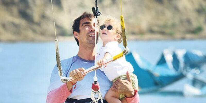 İbrahim Çelikkol'un adrenalin yüklü tatili
