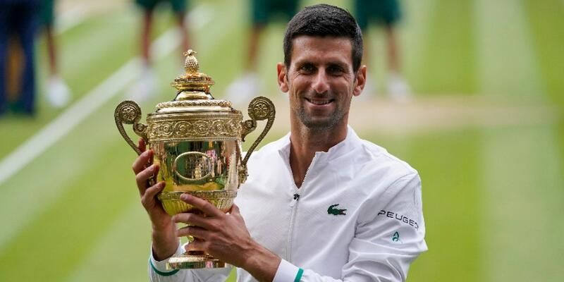 Wimbledon'da Novak Djokovic şampiyon oldu