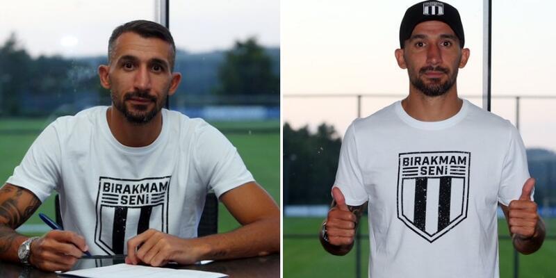 Beşiktaş Mehmet Topal'ı açıkladı