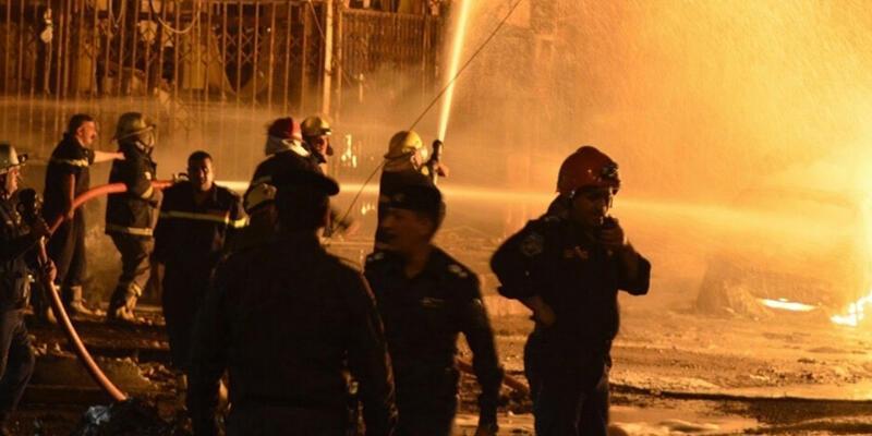 Irak'da hastanede yangın! Can kaybı 41'e yükseldi