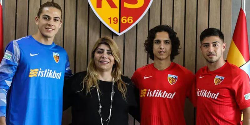 Son dakika... Kayserispor'da 3 imza birden!