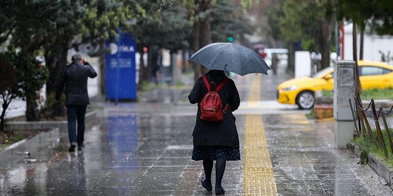 Karadeniz'in bazı kesimleri için kuvvetli yağış uyarısı