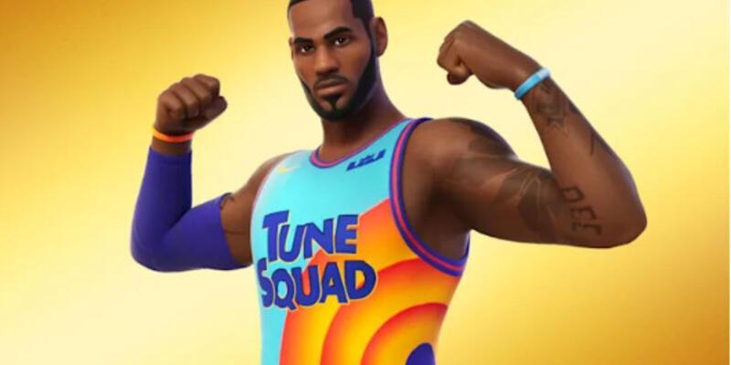 Dünyaca ünlü oyuncu LeBron James şimdi de Fortnite evrenine giriyor