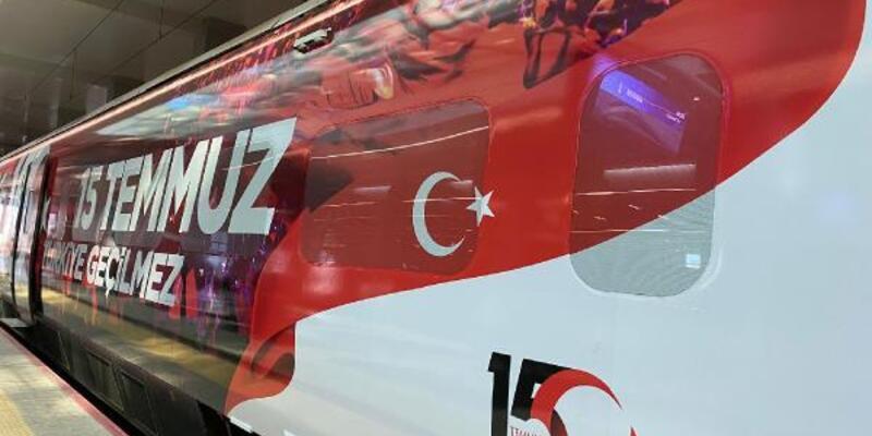 '15 Temmuz Demokrasi ve Milli Birlik Treni' Ankara'dan yola çıktı