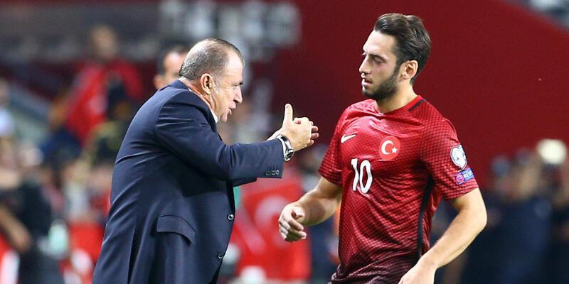 Fatih Terim'den Hakan Çalhanoğlu açıklaması