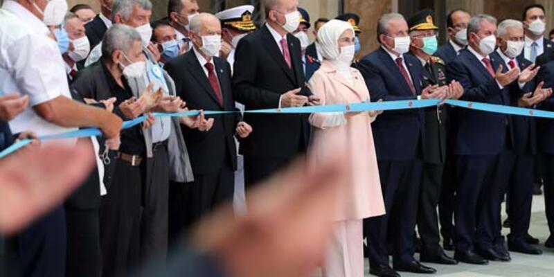 SON DAKİKA: Cumhurbaşkanı Erdoğan '15 Temmuz Demokrasi Müzesi'ni açtı